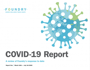 Covid-19 report front page