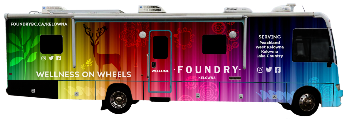 Foundry wellness on wheels truck