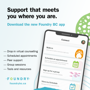 Instagram post promoting the Foundry BC app
