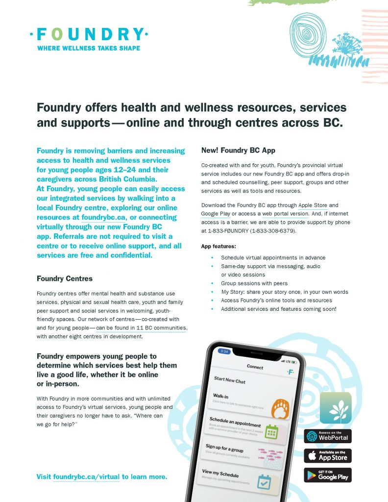 Foundry app one-pager